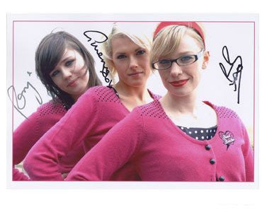 The Pipettes Autographed Photo