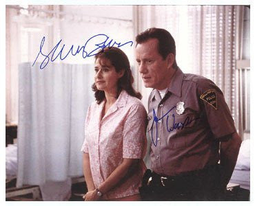 Elaine Bracco & James Woods 8x10 Autographed Photo UACC Dealer