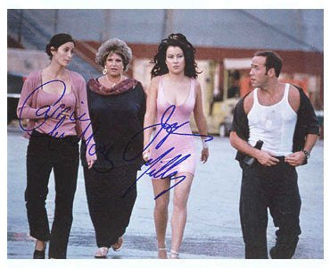 Carrie Anne Moss & Jennifer Tilly 8x10 Autographed Photo UACC Dealer