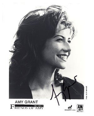 Amy Grant Autographed Photo