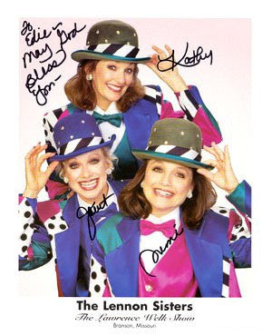 The Lennon Sisters Autographed Photo
