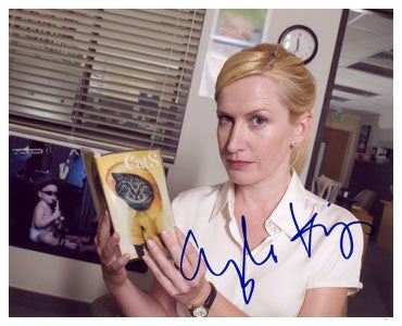 Angela Kinsey Autographed Photo