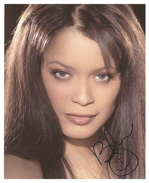 Blu Cantrell Autographed Photo