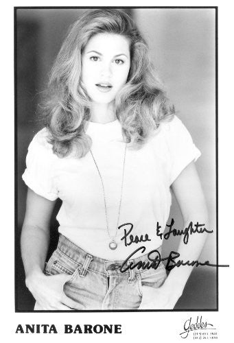 Anita Barone Autographed Photo