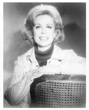 Dr Joyce Brothers Autographed Photo