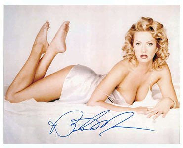 Barbara Moore Autographed Photo