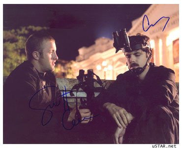 Casey Affleck & Scott Caan 8x10 Autographed Photo