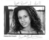 Cassandra Creech Autographed Photo