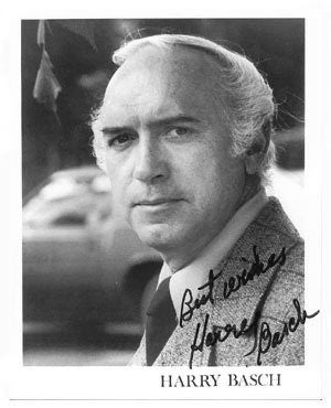 Harry Basch Autographed Photo