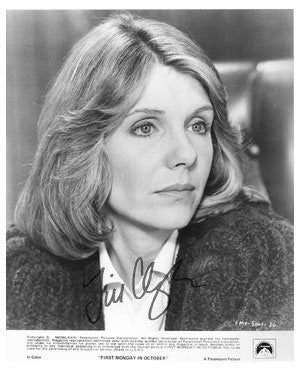 Jill Clayburgh Autographed Photo