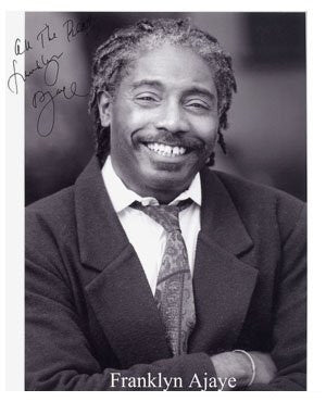 Franklyn Ajaye Autographed Photo