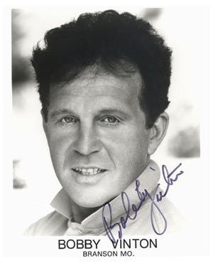 Bobby Vinton Autographed Photo