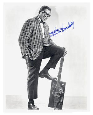 Bo Diddley Autographed Photo