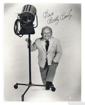 Billy Barty Autographed Photo