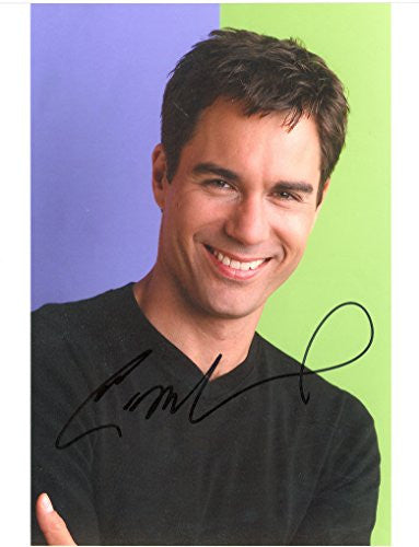 .Eric McCormack Autograph 8x10 signed photo UACC