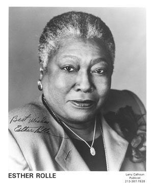 Esther Rolle Autographed Photo