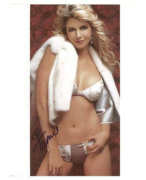 Tamie Sheffield Autographed Photo