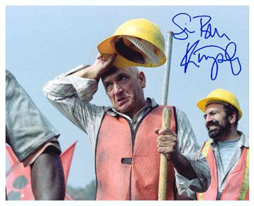 Ben Kingsley Autographed Photo