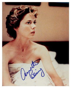 Annette Bening Autographed Photo