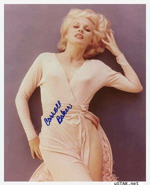 Carroll Baker Autographed Photo
