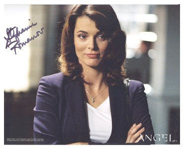 Angel Stephanie Romanov Autographed Photo