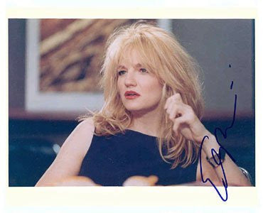 Ellen Barkin Autographed Photo