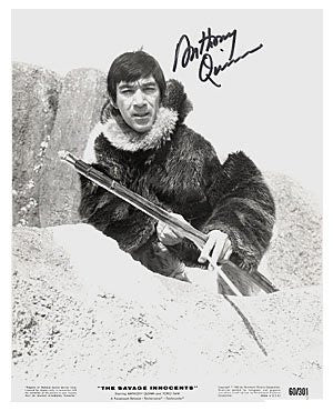 Anthony Quinn Autographed Photo