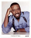 Courtney B Vance Autographed Photo