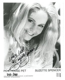 Suzette Spencer Penthouse Autographed Photo