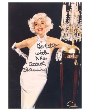 Carol Channing  Autographed Photo