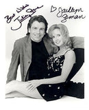 Jacklyn Zeman Julian Stone General Hospital Autographed Photo