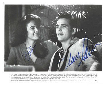 Diane Lane & Matt Dillon 8x10 Autographed Photo UACC Dealer
