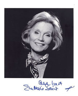 Eva Marie Saint Autographed Photo