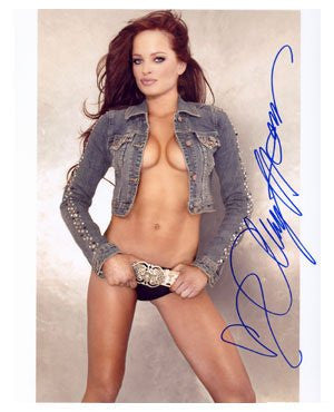 Christie Hemme Autographed Photo