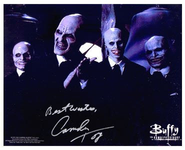 Chandler Toy Buffy Autographed Photo