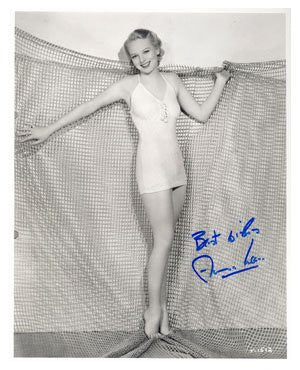 Anna Lee Autographed Photo