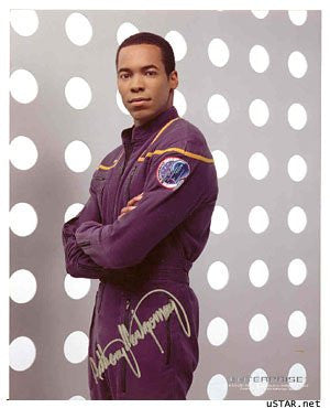 Star Trek Anthony Montgomery Autographed Photo