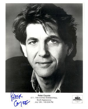 Peter Coyote Autographed Photos