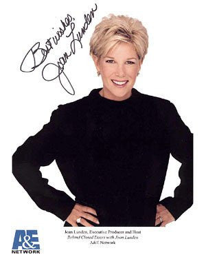 Joan Lunden Autographed Photo
