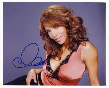 Halle Berry Autographed Photo