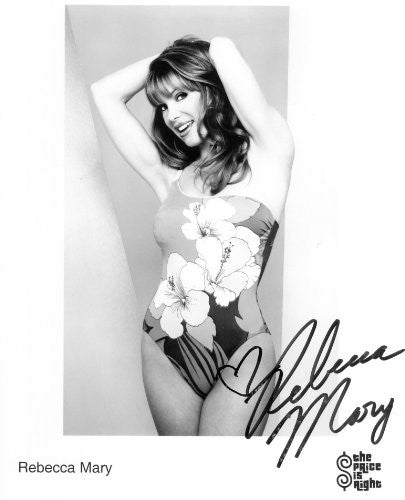 Rebecca Mary Autographed Photo