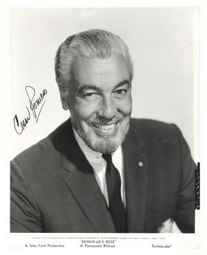 Ceasar Romero Autographed Photo