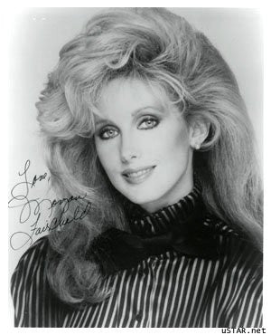 Morgan Fairchild Autographed Photo