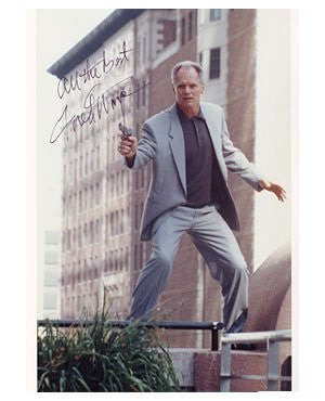 Fred Dryer Autographed Photo