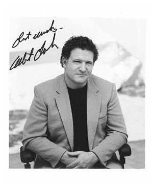 Albert Brooks Autographed Photo
