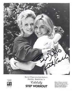 Beverly D'Angelo & Kathy Kaehler 8x10 Autographed Photo