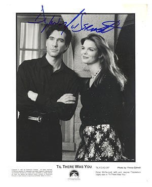 Dylan McDermott Autographed Photo