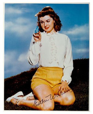Esther Williams Autographed Photo