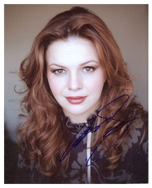Amber Tamblyn Autographed Photo