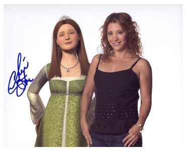 Cheri Oteri: Shrek 8x10 Autographed Photo